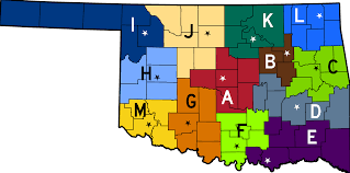 Map Of Oklahoma State by Oklahoma Highway Patrol Wikipedia