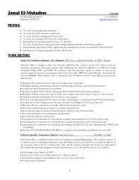 Sample Testing Resume For Experienced by Sample Quality Assurance Resume Examples Resume Templates