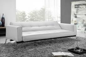 white leather futon sofa amazing gorgeous sofa bed white leather romano convertible in