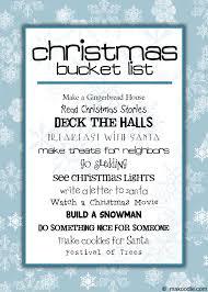 christmas family activities free printable makoodle