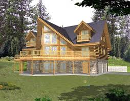 Cottage House Plans With Basement Log Cabin House Plans With Garage Homes Zone