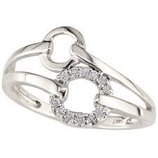 circle engagement ring circle diamond ring