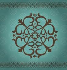 kazakh ornament vector images 280