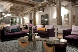 Hgtv Contemporary Living Rooms by Industrial Glam Urban Loft Loft Hgtv And White Leather Sofas