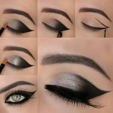eyes are the real beauty of a women a beautiful eye makeup on it add