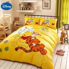 Yellow Bedding Set Yellow Disney Winnie The Pooh Tigger Bedding Set For