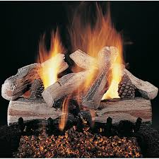 rasmussen 24 inch evening crossfire gas log set with vented