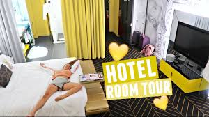 Yellow Room Yellow Aesthetic Hotel Room Tour Luxury Dog Room Service Menu