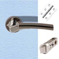 Bathroom Door Handles Nickel Bathroom Handle And Latch Or Lock Packs Bathroom Door
