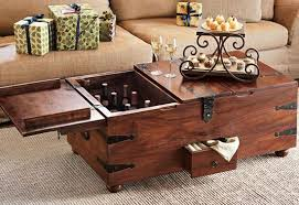 Vintage Trunk Coffee Table Living Room The Stylish Along With Stunning Trunk Coffee Tables