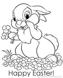 easter bunny coloring pages the sun flower pages