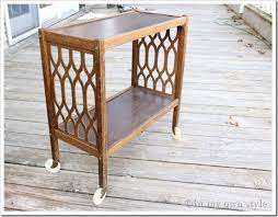 Chalk Paint Side Table Thrift Store Makeover Using Diy Chalk Paint Inmyownstyle