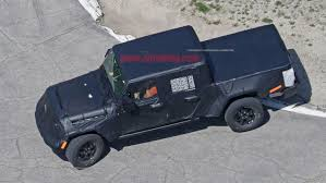 jeep truck spy photos jeep wrangler based truck spy shots jeeplopedia