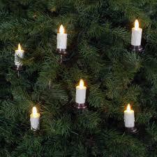 luminara christmas tree candles set of 5 candles 6 foot length