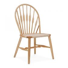 wegner swivel chair hans wegner style peacock dining chair wooden chairs cult uk