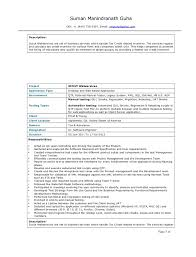 Etl Tester Resume Sample by Qa Tester Resumes Contegri Com