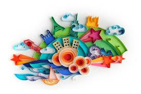 shine kids crafts yulia brodskaya quilling exhibition