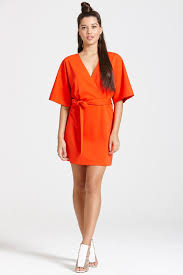 red kimono style dress u2013 dress ideas