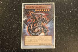 yu gi oh dark armed dragon full art card alter painting youtube