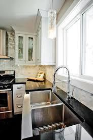 marble hexagon tile kitchen backsplash tiles contemporary