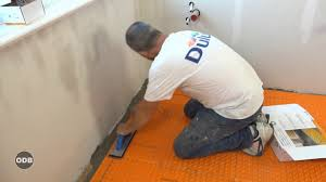 how to install ditra heated floor system by schluter systems youtube