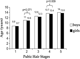 boy pubic hair ages in pubic hair stages in boys and girls brazil 2007