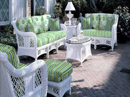 Wicker Patio Furniture Ebay Great Awesome White Wicker Table And Chairs Intended For Residence