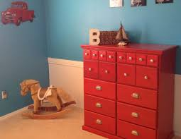 boy s room makeover with red glazed dresser i dig pinterest boy s room makeover with red glazed dresser