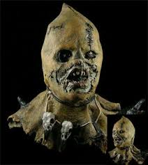Scarecrow Mask Terror Scarecrow Mask Horrormaske Buy At Good Price Horror