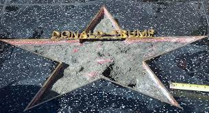 Hollywood Walk Of Fame Map Trump U0027s Hollywood Walk Of Fame Star Destroyed Politico