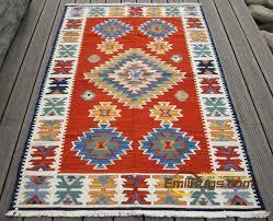 tappeto etnico kilim tappeti di tessuto a mano in stile etnico salotto