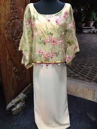 kimona dress boho kimona filipiniana boho