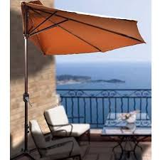 half patio umbrella gccourt house