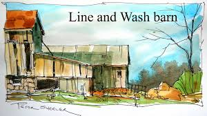 quick and easy home improvements line and wash watercolour tutorial quick and easy style by peter
