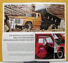 Vintage Ford Truck Advertisements - ford trucks f c n series 500 550 600 700 750 6000 7000 mailer
