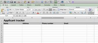 Candidate Tracking Spreadsheet by Building A Applicant Tracking Spreadsheet 7 Steps