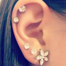 best place to buy cartilage earrings 17 best images about piercings on starfish cartilage