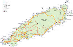 Map Of The Caribbean Detailed Map Of Tobago In The Caribbean