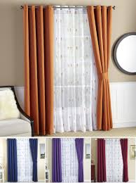 Curtains For Wide Windows by Fleur De Lis Wide Width Thermal Insulated Blackout Curtains 6