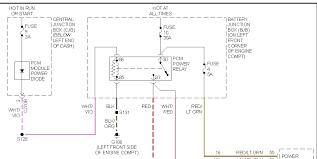 2003 ford escape fuel pump wiring diagram no power to fuel pump in