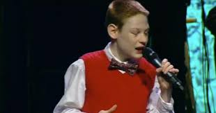 10 Year Old Blind Autistic Boy Christopher Duffley Wow Choir Singing I Can Only Imagine