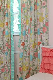 Pink Ruffle Curtains Panels by Window Treatments Archives Lottie Da Baby Baby Bedding