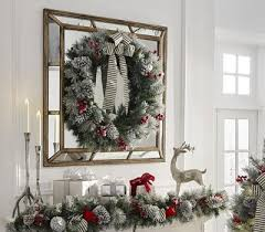 Christmas Window Decorations Clearance by Christmas Wreaths And Garland At The Home Depot