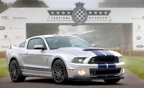 mustang carroll shelby ford mustang gt500 to run goodwood hill climb in honor of carroll
