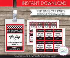 nascar birthday invitations 5x7 card or by partypixieprintables