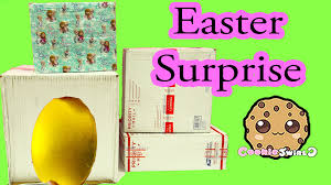 easter surprise box from moose toys u0026 fan mail opening from cookie