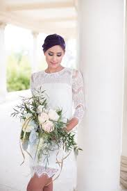 Short Wedding Dresses 13 Etsy Wedding Dress Stores Whose Gowns We Fell In Love With