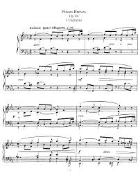 8 pièces brèves op 84 fauré gabriel imslp petrucci music