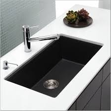 granite drop in kitchen sinks tags contemporary black kitchen