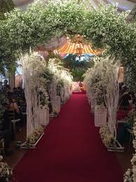 plant stand 120cm h wedding font aisle pillar